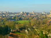 City of Norwich from Kett's Heights