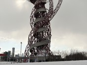 ArcelorMittal Orbit Forced To Close due to weather