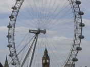 Big Ben Framed by London Eye