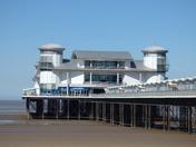 the grand pier in weston super mare