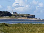 Old Hustanton beach at high tide