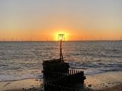 Sunrise, Caister Beach
