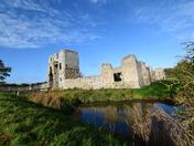 Autumn  At Baconsthorpe Castle