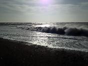 Budleigh beach