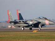 The D-Day anniversary F-15 at Lakenheath.