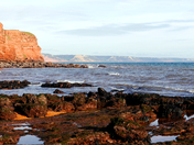 Coastline to Sidmouth from Budleigh