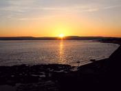 Sunset over Cliffside