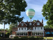 Balloons land on Romford Golf Club