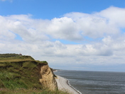 The cliffs of Sheringham