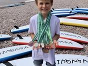 Devon nipper SLS medals