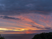 Sunset over the Bristol Channel