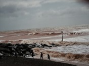 Took this shot on the Esplanade Sidmouth