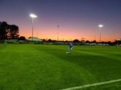 Amazing sky at Weston-super-Mare AFC