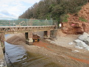 Alma footbridge closed for repair