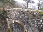 An old railway bridge on the way to Wistlandpound Rservoir
