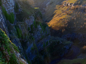 Sunset from the top of Cheddar Gorge