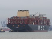 MSC FEBE The largest container ship in the world