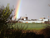 Rainbow Over James Paget Hospital