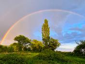 Rainbow over Tivetshall