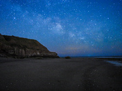 Star gazing at orcombe point