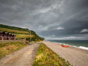 Spring Clouds at Branscombe