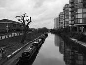 Canal side London Lockdown