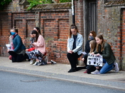 Bungay's Peaceful Black Lives Matters Protest