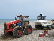 Cromer fishing boat.