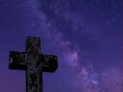 Milky Way and Jupiter