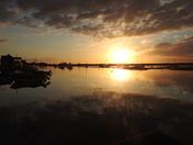 Sunset at Wells