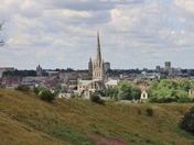 Norwich City from Mousehold Heath