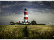 Happisburgh Lighthouse in July