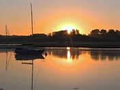 kyson point Woodbridge sunrise