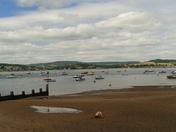 Lovely view of Exe Estuary