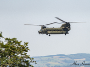 Chinook over Portishead