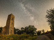 A new moon Milky Way over Panxworth All Saints.