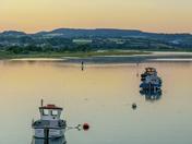River Axe Sunset