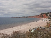 Beautiful day in Budleigh Salterton