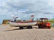 FISHING BOAT AT WEYBOURNE