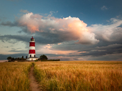 Project 52 Evening light over Happisburgh Lighthouse