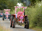 The Mini Pink Ladies Road Tractor Run