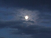 Moon Among the Clouds