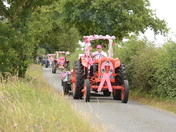 Pink Ladies Mini Tractor Road Run