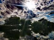 Gentle Paddle on River Waveney at Geldeston