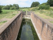 North walsham canal and lock x3