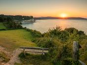 July's Last Sunrise