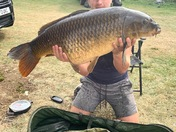 40ib 6oz untouched river common carp