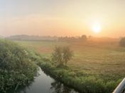 Sunrise over Buxton with Lammas