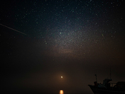 1am alone on Weybourne beach
