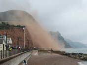 Again another cliff fall in Sidmouth on Sunday morning.